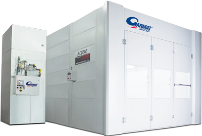 Garmat USA Full Downdraft Spray Booth 3000 Series