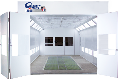 Garmat 3000 downdraft paint booth