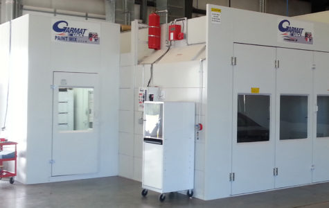 Garmat USA Chinook II Spray Booth With Paint Mixing Station