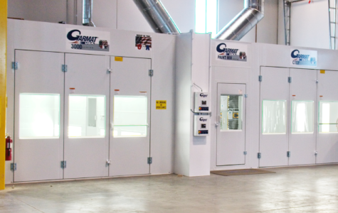 Multiple Garmat Spray Booths