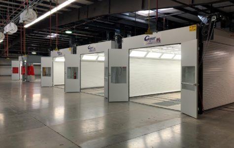 Garmat USA Multiple Spray Booths
