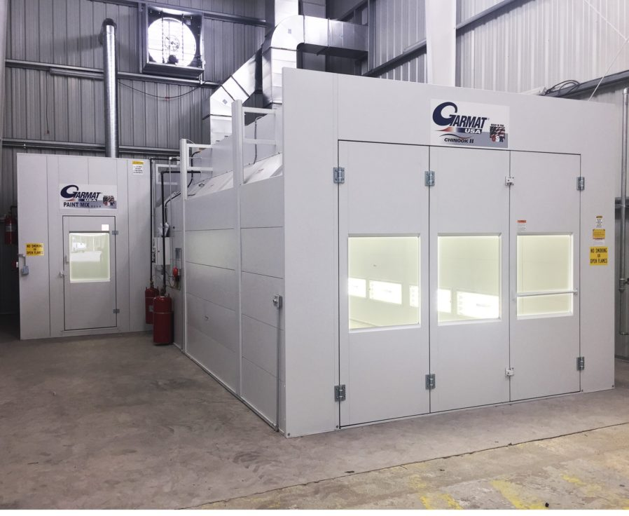 Garmat USA Chinook II Spray Booth