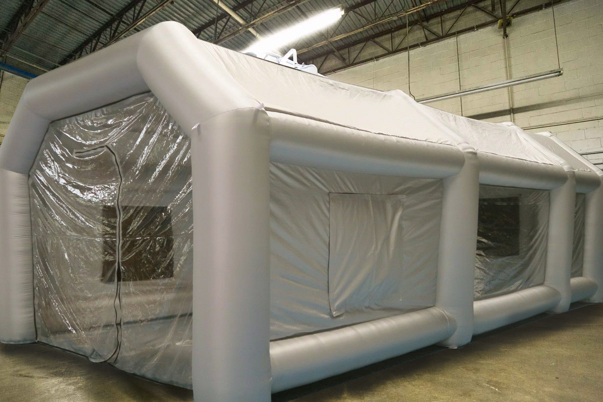 inflatable spray booth-1