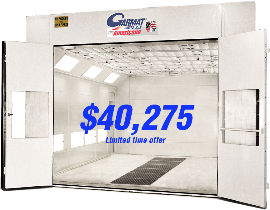 Garmat Americana Downdraft Spray Booth